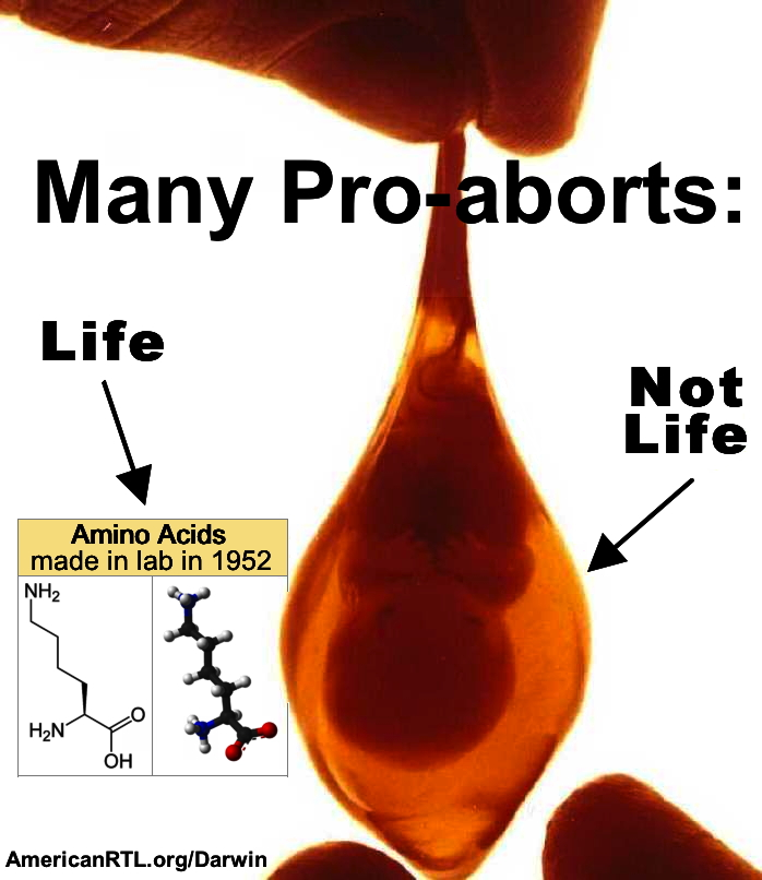 Most Pro-aborts: Life, Not Life